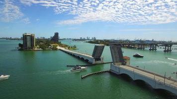 Vidéo aérienne Venetian Causeway Miami