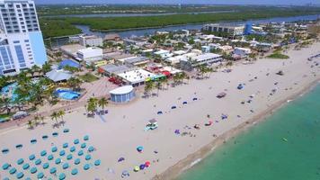 images aériennes de la plage