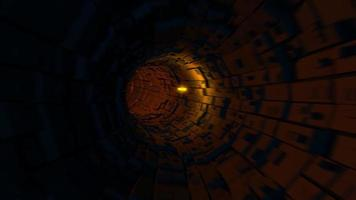 Paseo en túnel 3d video