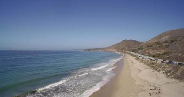 vista aérea da praia de veneza e da marina del rey - los angeles, califórnia, eua