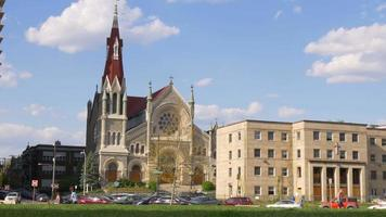 Estados Unidos día de verano filadelfia iglesia de san francisco xavier 4k pensilvania