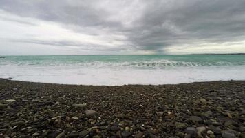 vue panoramique sur le littoral et la plage