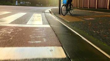 mattina dopo la pioggia ad aoyama tokyo