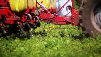 sembradora agrícola video