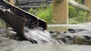agriculture chinoise: irrigation par roue à eau