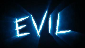 Claw Slashes Evil - Blue