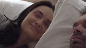 Schlafenszeit des Paares