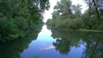 canale d'acqua, fiume nel delta del danubio