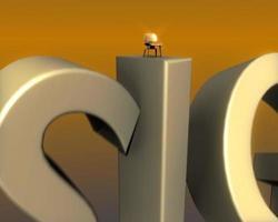 desenho de animação de logotipo