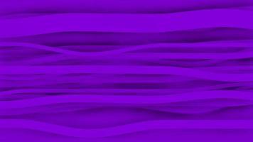 Nahtlose Schleife des 4k lila Streifenpapieranimationshintergrunds. video