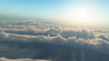 animação de nuvens dançantes (hd) video