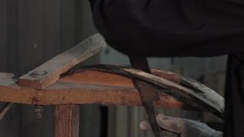 fabricación de barriles de vino