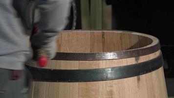Herstellung von Weinfässern