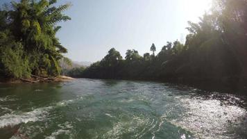 Thailand bamboo rafting trip in Kanchanaburi video