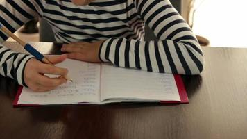 schrijven kind