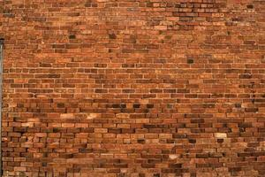 Red brick wall photo