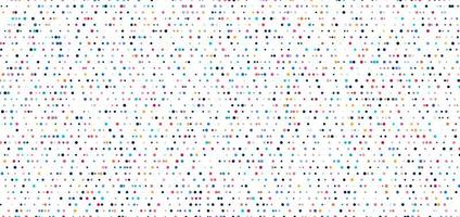 Abstract small colorful dots pattern  vector
