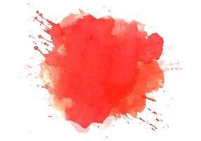 Abstract colorful watercolor splash  vector