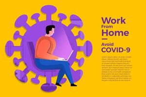 Work from home avoid COVID-19