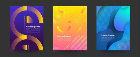 Abstract Background Design Layout  vector