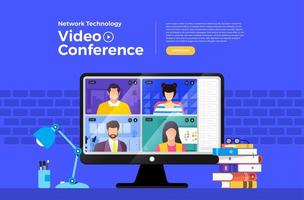 Network technology video conference