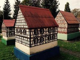 Replicas of old buildings