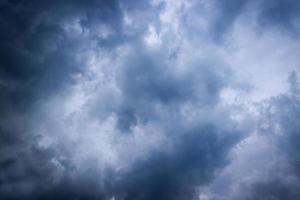 Dark cloudy sky photo