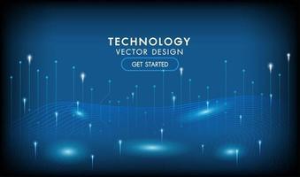 fondo abstracto de tecnología de alta tecnología