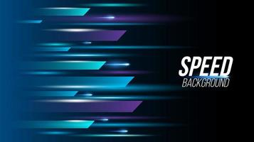 Abstract background technology high speed racing for sports vector