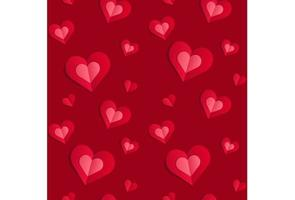 Valentine wallpaper cut paper pattern