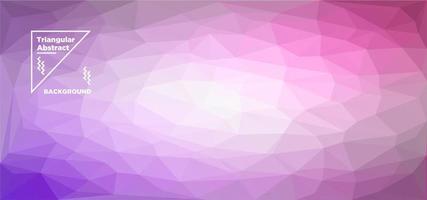 Purple Triangular Polygonal Background