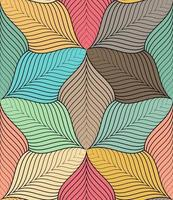 Abstract colorful seamless pattern  vector