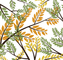 Tree Branch With Leaves vector