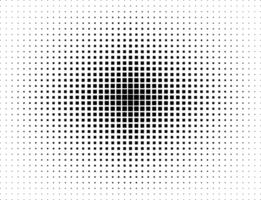 Square halftone design vector