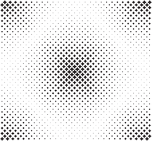 Black stars diamoned pattern vector