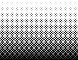 Geometric diamond halftone pattern vector