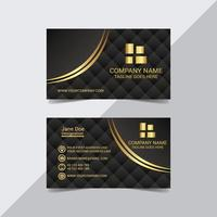 Modern Royal Look Business Card Template vector