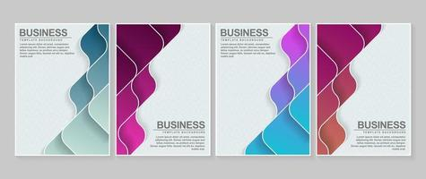 Set of wavy layer minimal covers vector