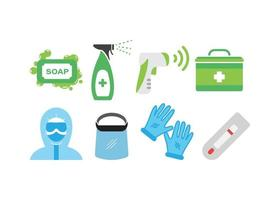 Virus prevention set vector