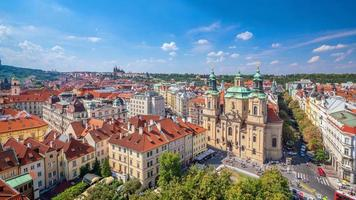 Prague city skyline photo