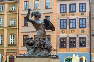 Sculpture of the Warsaw Mermaid