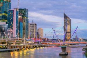 Brisbane city in Australia