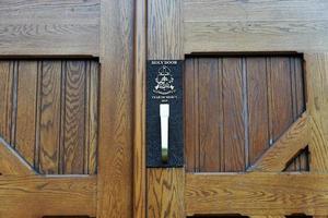 puerta de la iglesia en halifax