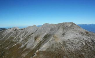 Prin ridge in Bulgaria