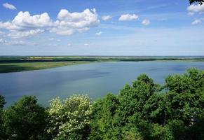 Lake Rabisha in Bulgaria. photo