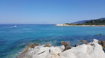 Aegean sea, Greece photo