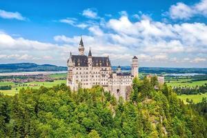 Castillo de Neuschwanstein, suroeste de Baviera, Alemania foto