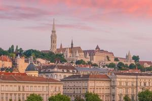 Budapest skyline in Hungary photo