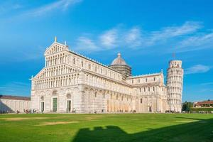 Pisa Cathedral and the Leaning Tower in Pisa