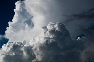 Big cumulus clouds